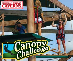 Canopy Challenge at Natural Bridge Caverns