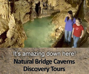 Natural Bridge Caverns Discovery Tours